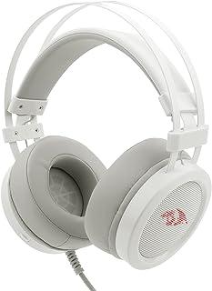 Headset Gamer Redragon Scylla Lunar White H901W