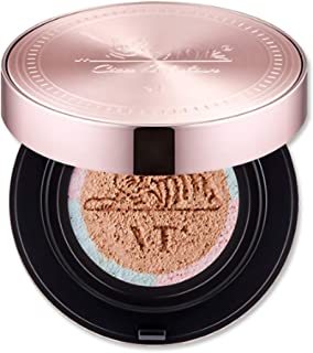 VT CICA Moisture Cover Cushion #21 Light Beige with Refill