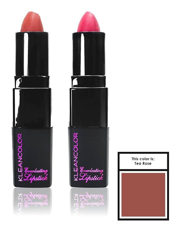 カジュアル降臨ブリリアントKLEANCOLOR Everlasting Lipstick - Tea Rose (並行輸入品)