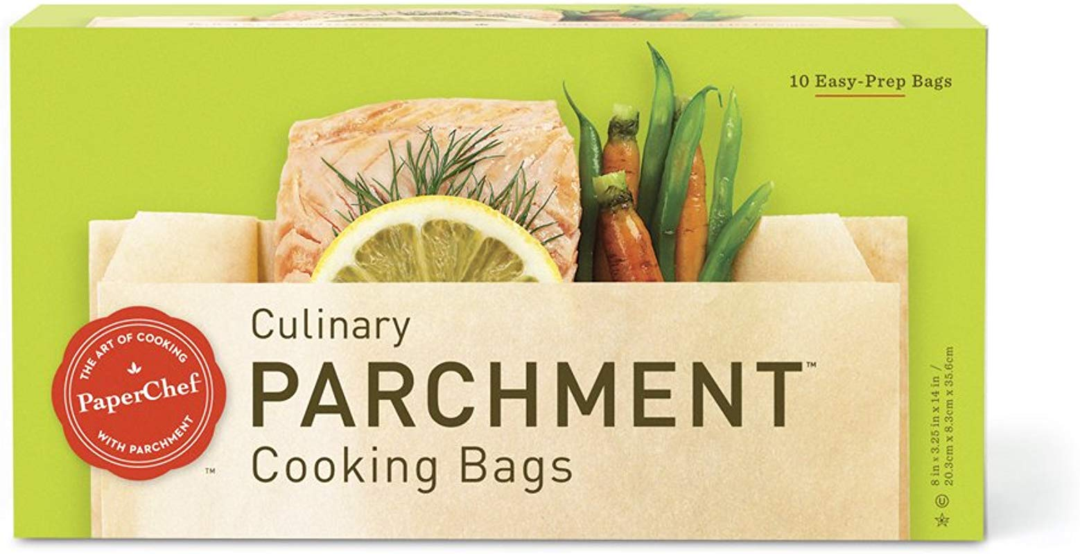PaperChef Culinary Parchment Cooking Bags 10 Ct