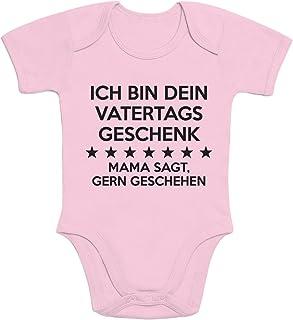 Shirtgeil Ich Bin Dein Vatertagsgeschenk Mama SAGT Gern Geschehen Baby Kurzarm Body