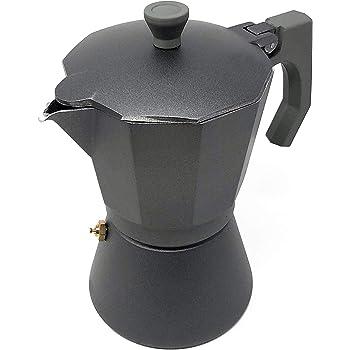 Space Home - Cafetera Espresso en Aluminio - Estilo Italiano - 6 Tazas: Amazon.es: Hogar
