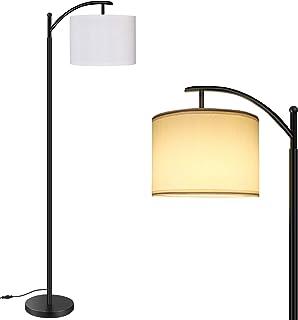 Lampadaire LED RGB sur Pied Salon, BRTLX 15W Dimmable RGB Lampe à Pied de Chevet avec Ampoule LED E27, Lampe LED Pied Tact...