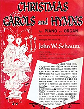 Staple Bound CHRISTMAS CAROLS AND HYMNS FOR PIANO OR ORGAN (LEVEL FOUR) Book