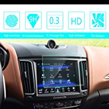 8X-SPEED for Maserati Ghibli Levante 8.4-Inch 167x124mm Car Navigation Screen Protector HD Clarity 9H Tempered Glass Anti-Scratch, in-Dash Media Touch Screen GPS Display Protective Film