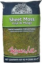 Mosser Lee ML0460 Natural Green Sheet Moss, 325 sq. in.