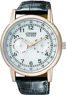 ساعة يد جلدية من سيتزن AO9003-16A - اسود