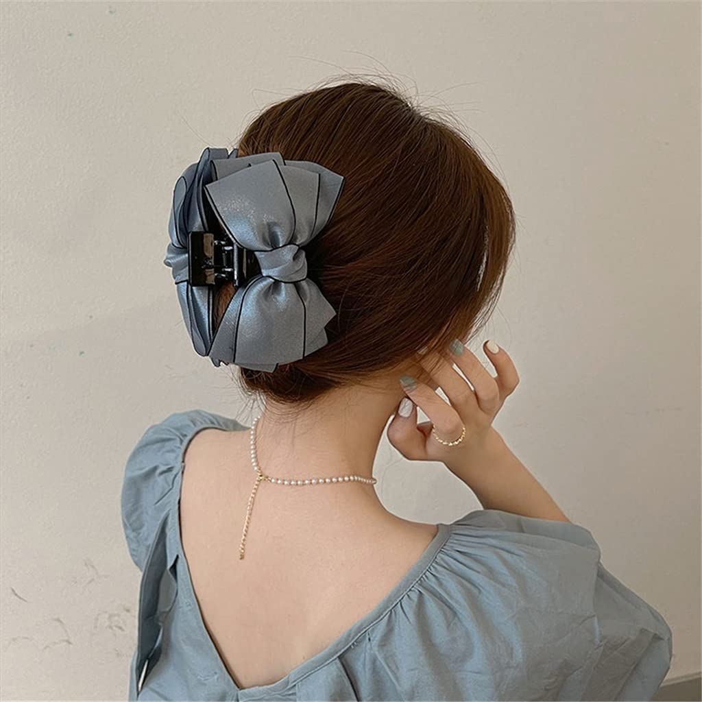 GSDNV French Tucson Mall Elegant Bow Ranking TOP13 Tie Hair Clip Hairpin Female Headdress