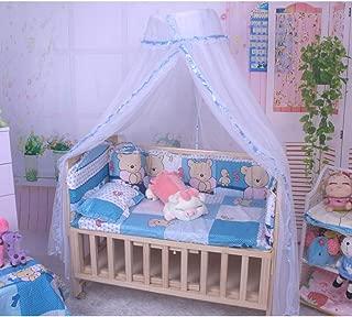 Tenda da Gioco Tenda Estiva per la Camera da Letto Rosa Tenda da Letto per Bambini 2,4 m zanzariera a baldacchino ChanYW