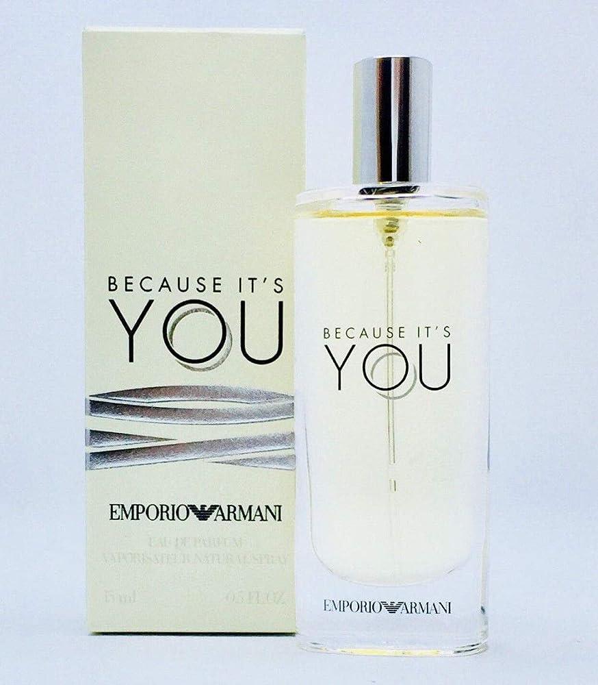 Giorgio armani because it`s you,eau de parfum,profumo per donna,15 ml sb-122