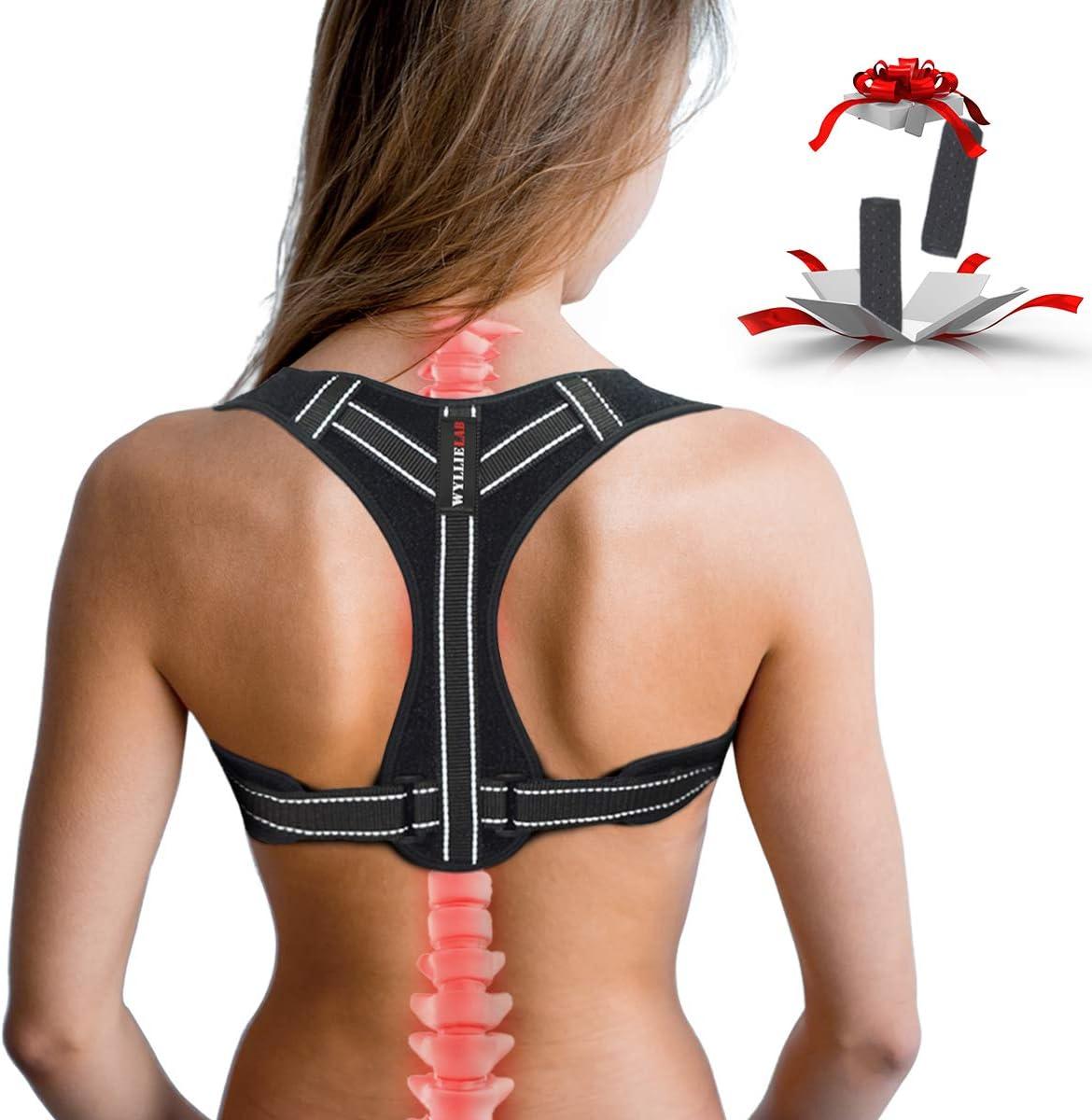 OFFicial Posture Corrector for Bargain Women f Adjustable Back