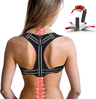 Posture Corrector for Women, Adjustable Back Posture Corrector for Men, Effective..
