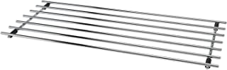 comprar comparacion CKB LTD® - Salvamanteles rectangular, de acero cromado, protector de superficie de trabajo, alfombrilla de metal para apoy...