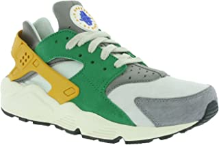 Nike Mens Huarache Run Se Leather Low Top Lace Up Running Sneaker