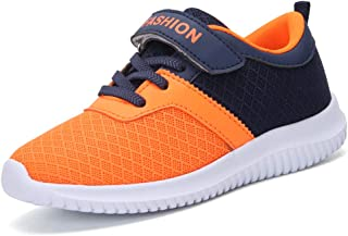 zhenghewyh Kids Tennis Shoes Boys Lightweight Sports Running Shoes Girls Athletic Shoes Breathable Sneakers for Little Kids and Big Kids