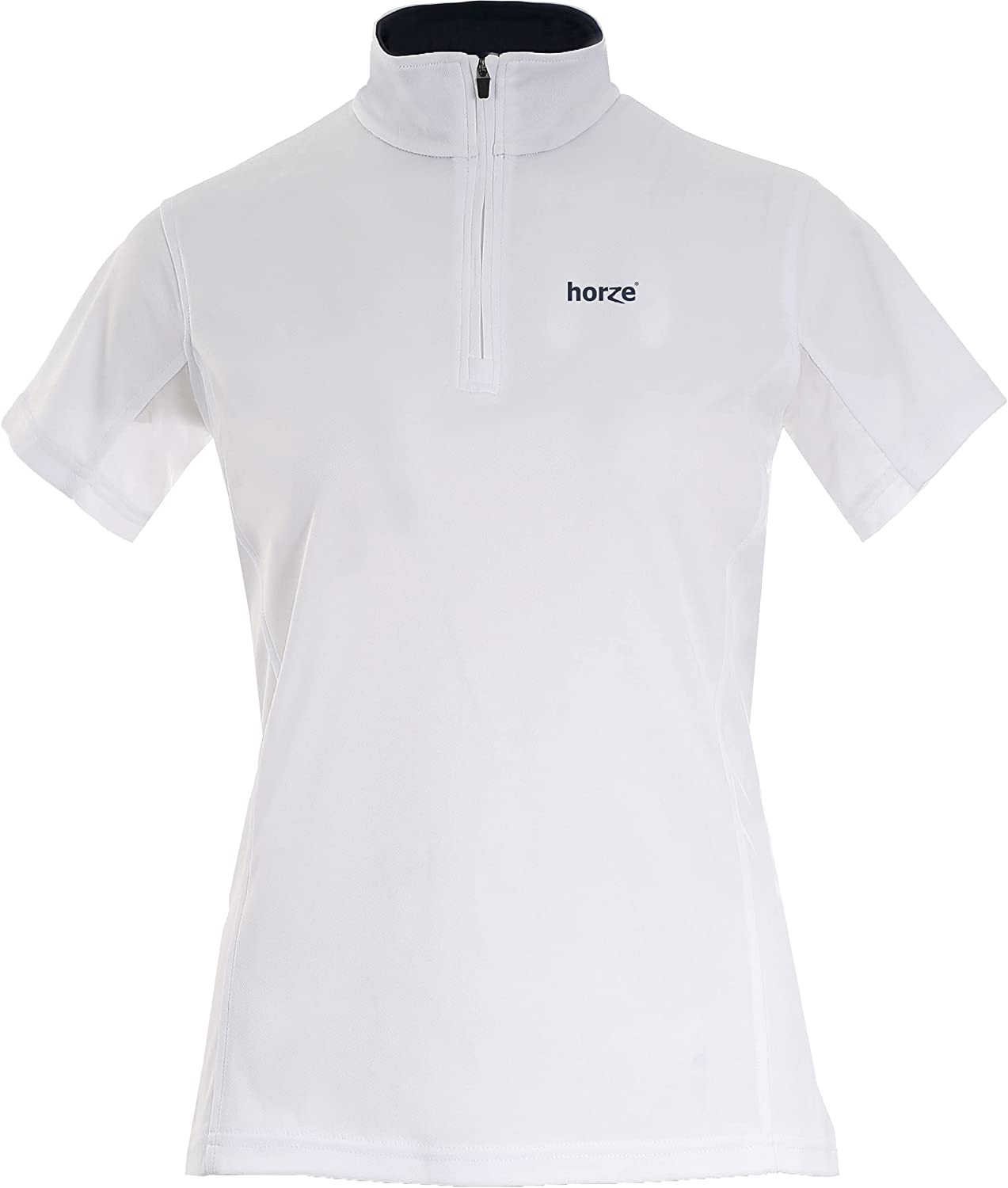 HORZE Trista Women's Short-Sleeved New sales Functional US Shirt White Department store 1