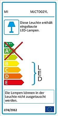 Xiaomi Mi Bedside Lamp 2, Night Light & Soft Light Mode, Brightness Touch Control