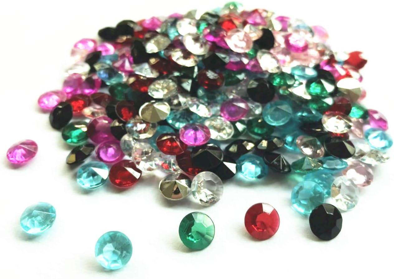 Briliant Shop 8mm Finally resale Limited price start Acrylic Color Trea Crystals Diamond Round Faux