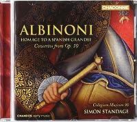 Albinoni: Homage (Homage to a Spanish Grandee: Op.10 Concertos) by Collegium Musicum 90 (2010-05-25)