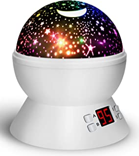Night Lights for Kids and Toddlers, Star Projector with Timer for Bedtime, Best Gifts for Baby Boys and Girls
