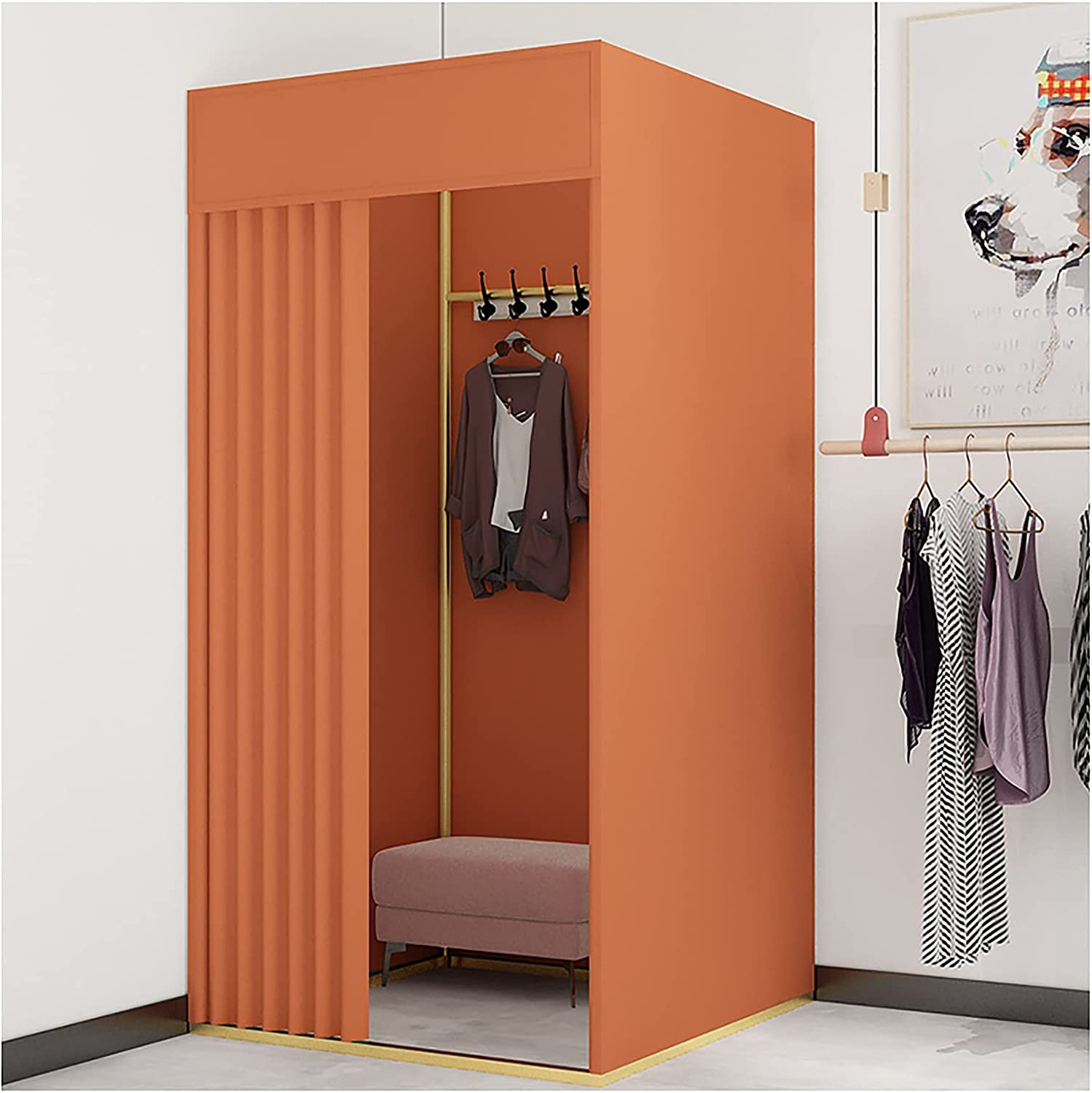 BCGT Fitting Room Clothing Store Privac In a popularity Protection Fashionable