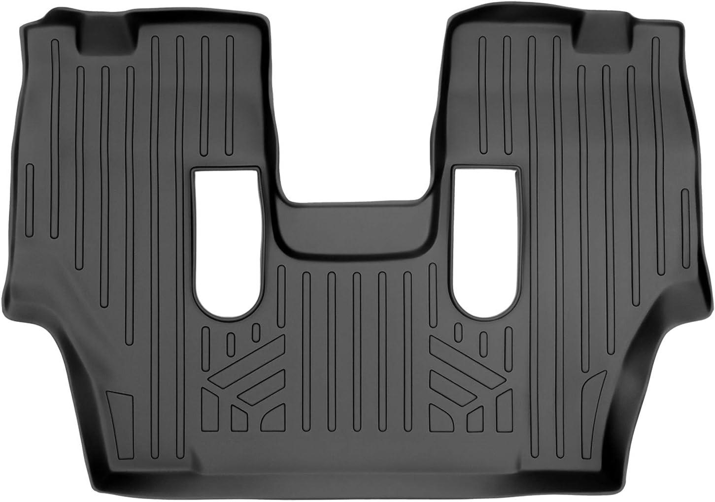 SMARTLINER High order Custom Fit Floor Mats Ranking TOP4 3rd Row Black for 2011-20 Liner