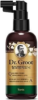 LG Dr. Groot Anti Hair Loss Scalp Tonic Silicon Free Korean Medical Herb 80ml