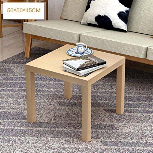 LTM-MPZ kleine salontafel bureau woonkamer bank zijhoek meerdere slaapkamer nachtkastjes 50 * 50 * 45cm