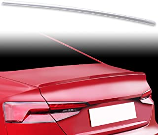 FYRALIP Painted Factory Print Code Trunk Lip Wing Spoiler For 2016up Audi A5 B9 2nd Generation Coupe Fast Delivery Easy Installation Perfect Fit - LY7G Quartz Gray Metallic