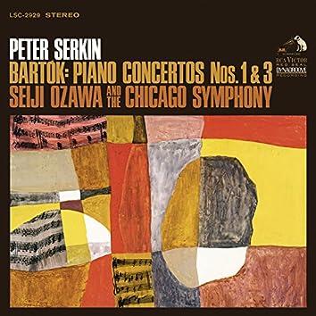 Bartók: Piano Concertos No. 1 & No. 3
