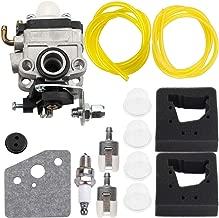 Carburetor for Honda FG100 Tiller GX31 GX22 Engine String Trimmer # 16100-ZM5-A95 Carb Primer Bulb Air Filter Tune Up Kit