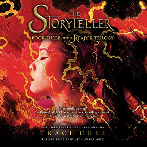 The Storyteller     Sea of Ink and Gold Series, Book 3              De :                                                                                                                                 Traci Chee                               Lu par :                                                                                                                                 Kim Mai Guest                      Durée : 15 h et 29 min     Pas de notations     Global 0,0