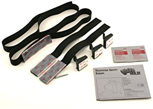 Ready America 4173 Quake Hold Adjustable Home Electronic Safety Strap, 11 in L, 50 lb, Nylon