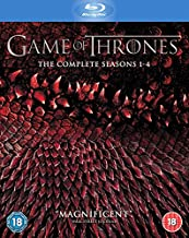 Game of Thrones - Season 1-4 Region Free