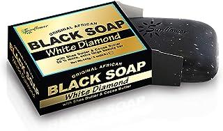 Difeel アフリカブラックソープ - ホワイトダイヤモンド140g(2パック)