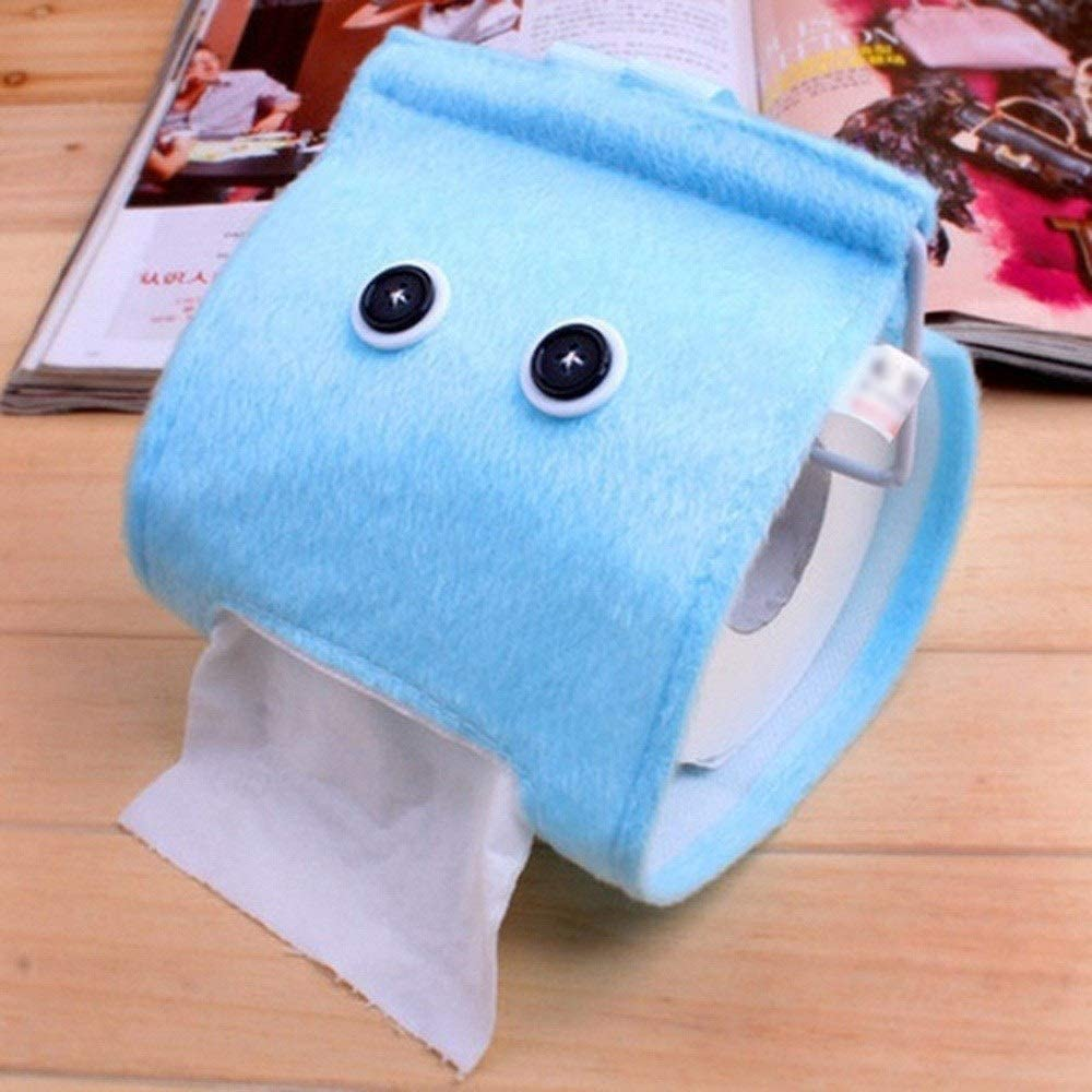Great interest Easy-to-use Cute Plush Cloth Tissue Box Case Paper Cover Bathr Holder Toilet