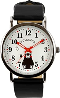 [クレファー] 腕時計 くまモン アナログ 日常生活防水 KM-A1601-WTS レディース ブラック