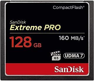 SanDisk Extreme PRO SDCFXPS-128G-X46 - Tarjeta de memoria UDMA (7 velocidades de hasta 160 MB/s)