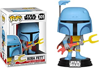 Funko FU40858 POP! Star Wars: #305 Animated Boba Fett Exclusive Play Figure
