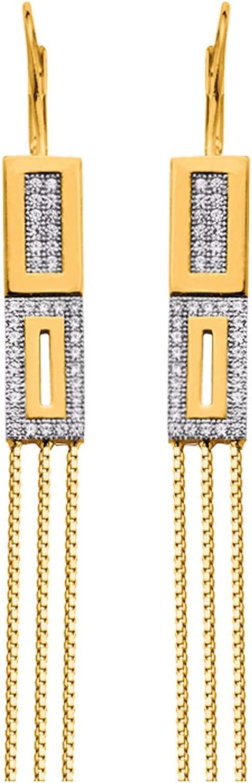 Altesse [P0623]  White gold plated sleeves 'Scarlett'
