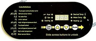 Aqua Cal STA0062 Display Control Panel LBP0049