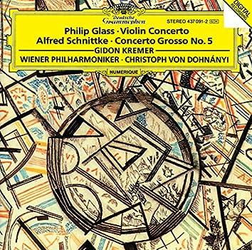 Glass: Violin Concerto / Schnittke: Concerto Grosso