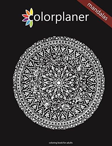 Colorplaner - mandalas (English Edition)