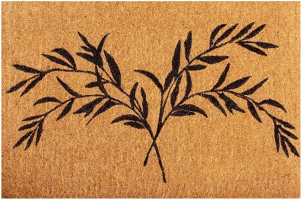 ZHM Sale SALE% OFF Coir doormats for Outdoor Non Ma Home Slip Door Coconut Arlington Mall Palm