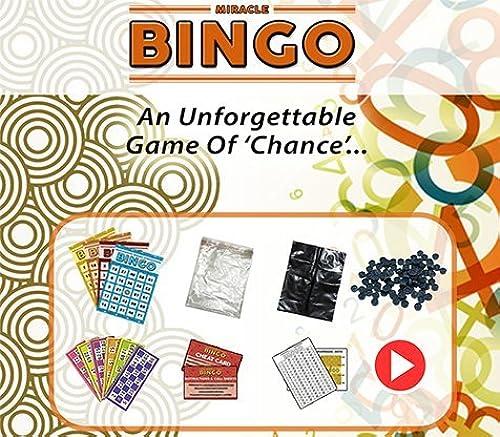 SOLOMAGIA Miracle Bingo by Doruk Ulgen - Karten Tricks - Zaubertricks und Props