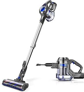 MOOSOO Cordless Vacuum, 4 in 1 Powerful Suction Stick Vacuum Cleaner 1.3L Capacity for..