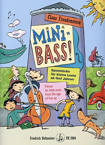 Mini Bass - arrangiert für Kontrabass [Noten / Sheetmusic] Komponist: Freudenstein Claus