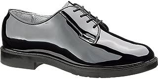 743 Womens High Gloss Uniform Oxford Shoe