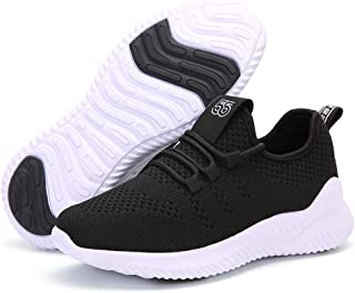 ZYEN Tennis Running Shoes Womens Athletic Walking Non Slip Breathable Mesh Lightweight Fashion Gym Sneakers