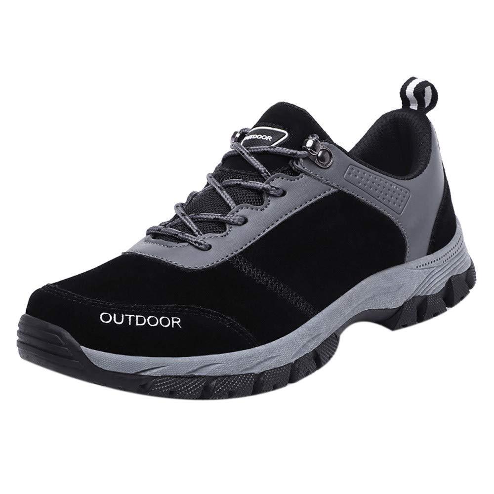 xinxinyu Zapatillas Running Senderismo para Hombre | Calzado Deportiva Antideslizante de Tela Oxford | Zapatos Deportivas con Cordones para Deportes Al Aire Libre: Amazon.es: Hogar